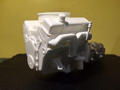 1/10 Scale V8 Engine With Accessories  TrailFinder Rc4wd Tamiya Etc.