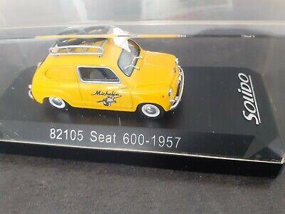 1/43 seat 600 1957 82105 michelin solido box