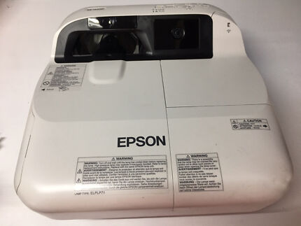 Epson interactive ultra short throw projector wifi enable eb-1410wi