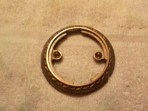 National Cash Register ORIGINAL Brass Clock Ring (BRONZE) NCR