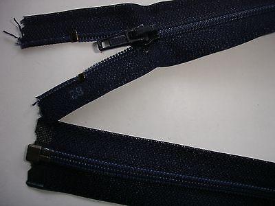 RV 292 Reißverschluß opti dunkelblau 62cm, teilbar 1 Stück