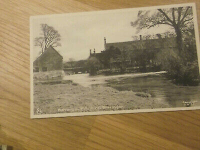 VINTAGE TUCK'S POSTCARD OF BARRINGTON MILL, GREAT BARRINGTON IN THE COTSWOLDS