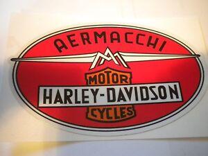 1960's Harley-Davidson Aermacchi Decal