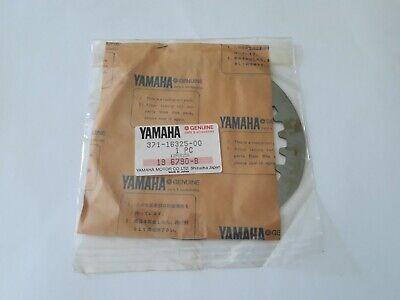 1 X GENUINE <em>YAMAHA</em> PLAIN STEEL CLUTCH PLATE 371 16325 00 XJ600 FZ600 X