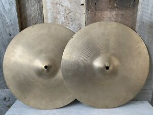Zildjian vintage hi hat 14'' cymbales made in canada
