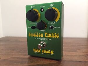 Way Huge Swollen Pickle Jumbo Fuzz MkIIS - Guitar Effect Pedal (Used) Everton Park Brisbane North West Preview