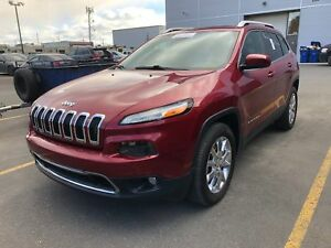 2015 JEEP CHEROKEE LIMITED-NAV-UCONNECT-4X4-CUIR