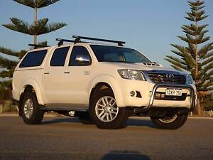 2012 Toyota Hilux SR5 Dual Cab Canopy Exc Con Hillarys Joondalup Area Preview