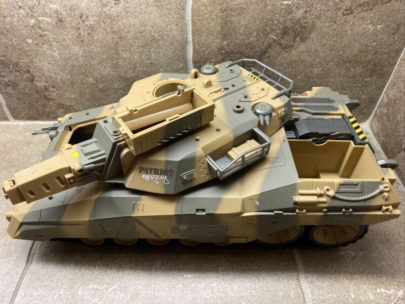 🔥G.I. JOE VS Cobra SPY TROOPS Motorized PATRIOT GRIZZLY Tank Hasbro BEST DEAL🔥