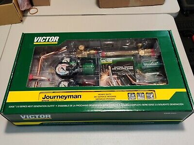 0384-2101 Victor Journeyman Torch Kit Set W Regulators New