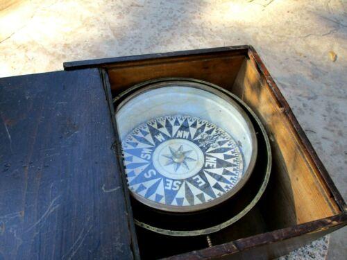 Antique Dry Card Compass
