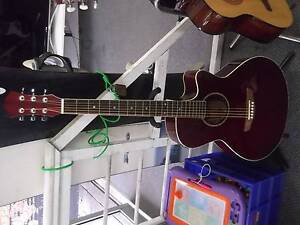 Semi Acoustic Guitar Revesby Bankstown Area Preview