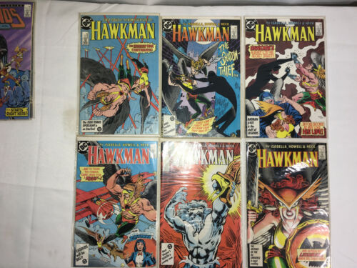 DC Comics: Hawkman #1 - 6 ( Aug 1986 - Jan 1987 )