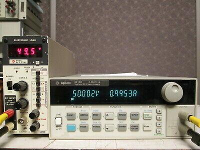 Agilent 6613c High Accuracy 50v Lab Power Supply 20 Mv Tested Programmable