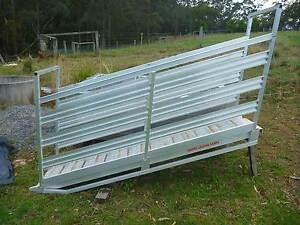 Whipps portable aluminium livestock loading ramp Comboyne Port Macquarie City Preview