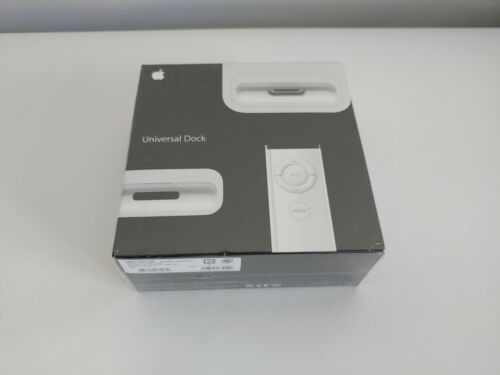 Apple iPod Universal Dock MB125G/C With Remote Brand New / Sealed