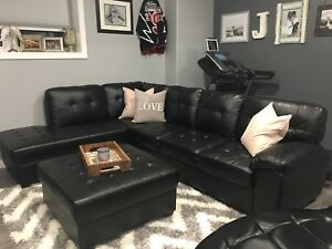 Sectional, Ottoman & Chaise