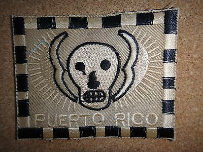 US 5th SFGrp MACV-SOG RT PUERTO RICO Machine Embroidered Patch