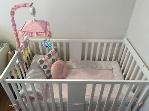 Crib and mattress 150$