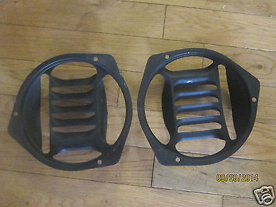 1957 Chevy Kick Panel Grills In Very Good Condition