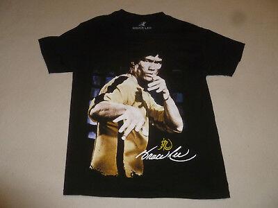 Bruce Lee Enterprises Shirt Size Large Tee Black Martial Arts Graphic Mens