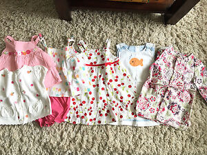 12-18months Beautiful Toddler Girl's Dresses(9 items)