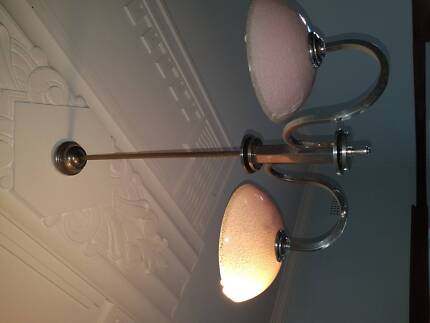 Art deco ceiling light in original condition working