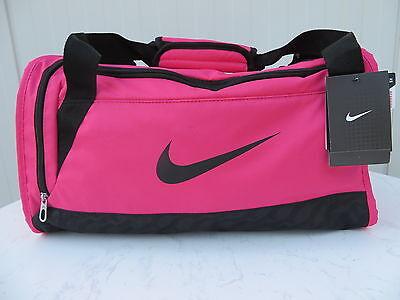 Galeria Nike Brasilia Duffel Small Tasche pink schwarz Sporttasche Fitness Freizeit NEU