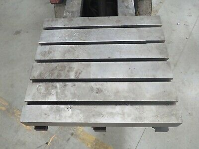 24 X 22 X 6.25 Steel Welding T-slotted Table Cast Iron Layout Plate 5 Slot