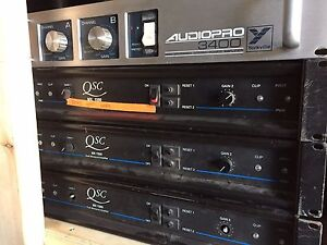 QSC, Yorkville Amps