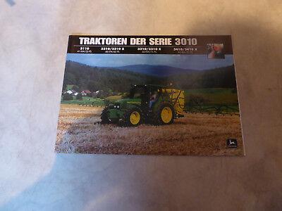 Prospekt John Deere Traktoren der Serie 3010 Über 2000 Artikel im Shop!!