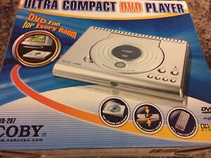 Coby Ultra Compact DVD Player