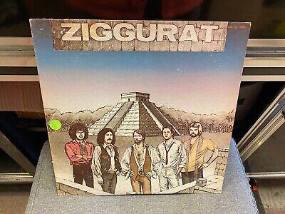 Ziggurat S/t Self Titled LP Robox 1979 Hard Rock Printed Inner Sleeve VG  - $13.95
