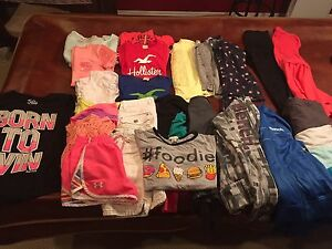 Girls name brand clothes size 10-12