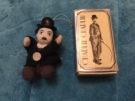 Charlie Chaplin vintage Christmas decoration. Nic's collectables