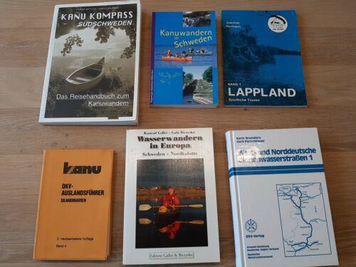 Konvolut Wasserwandern / Deutschland/ Skandinavien / Schweden / Lappland