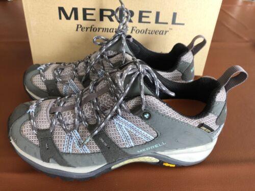 Merrell Siren Sport GoreTex XCR Womens Size 6.5 Grey Vibram Hiking Shoes J13056