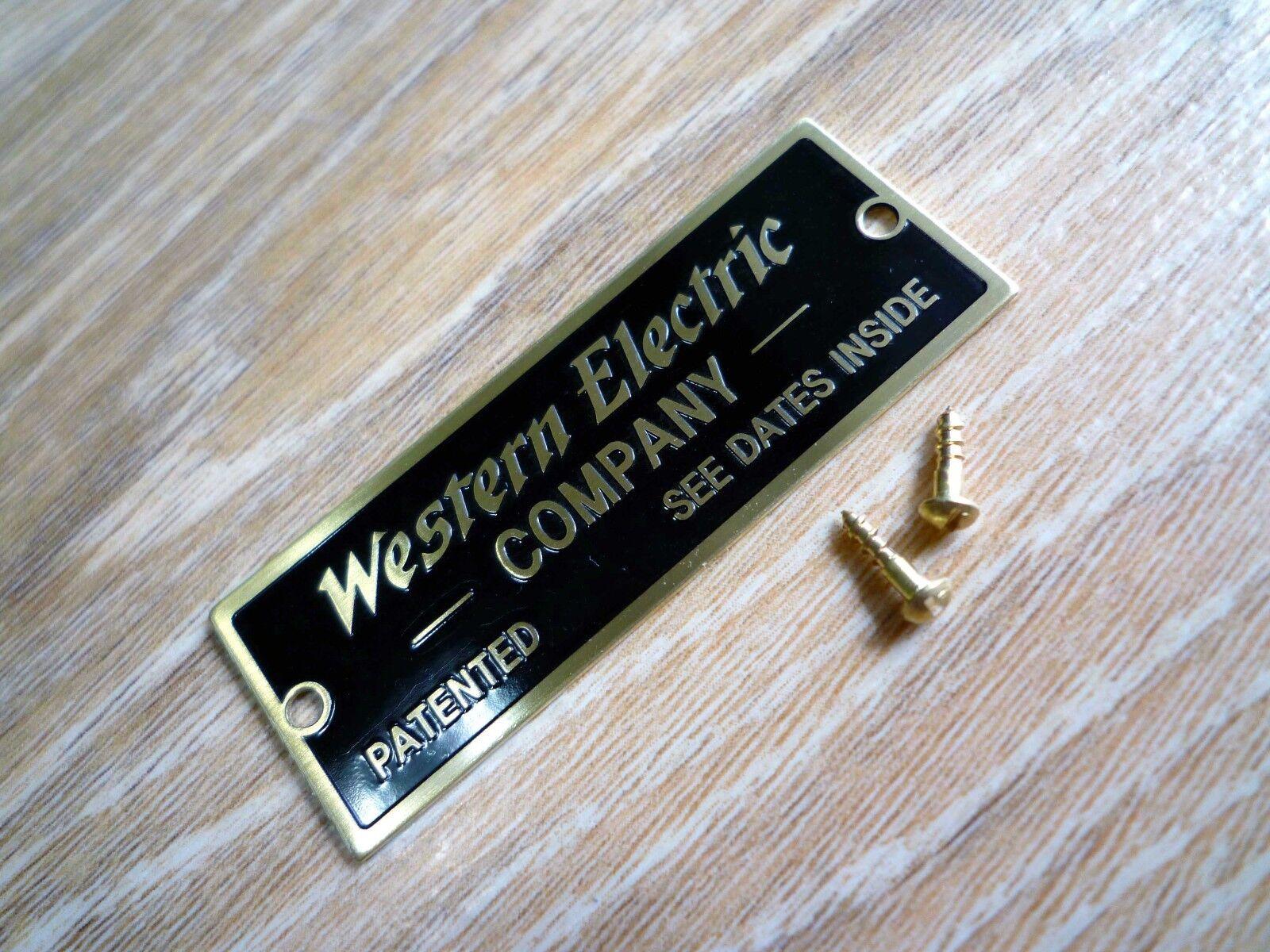 McINTOSH 75MM 24K-GOLD//BLACK LOGO EMBLEM LABEL BADGE New Reproduction for DIY