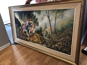 Vintage painting from 1970 orignal