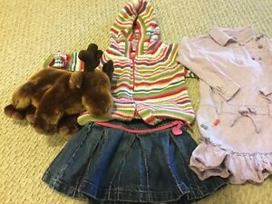 Girls clothes newborn and up to size 3
