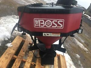 boss salt spreader