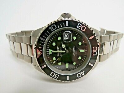 Invicta Automatic Titanium Pro Diver Men's Watch NH25A 45mm 0420