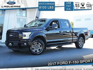 2017 Ford F-150 XLT SPORT **CAM*A/C*CRUISE**