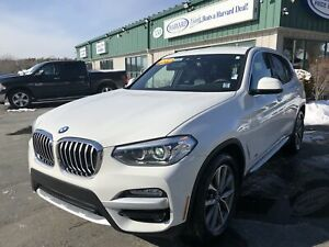2018 BMW X3 xDrive30i CLEAN CARFAX/ONE OWNER/PANO ROOF/NAV/BA...