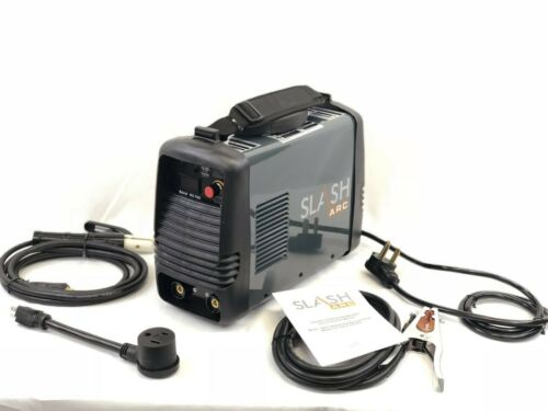 SlashArc DC 160 amp Dual voltage input Stick Welder package 115/230v