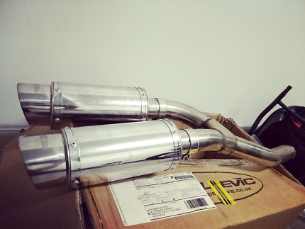Delkevic Exhaust Pipes - FZ6