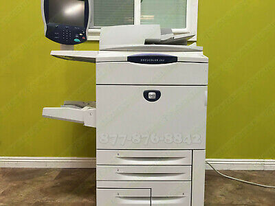 Xerox Docucolor 252 Digital Press Laser Production Printer Copy Scan Fiery 65ppm