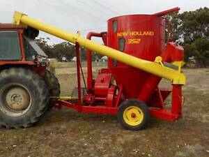 New Holland 352 Hammer Hill Carisbrook Central Goldfields Preview