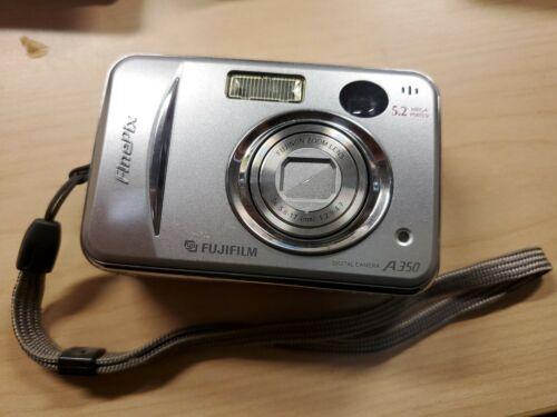Fujifilm FinePix A Series A350 5.2MP Digital Camera - Silver - $0.99