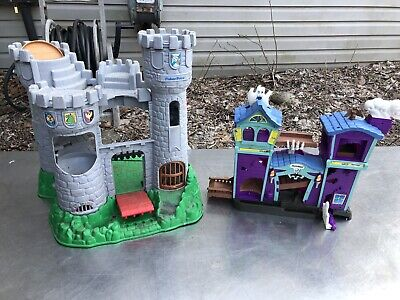 fisher price castle great adventures Playset Knight Matchbox Haunted House Set